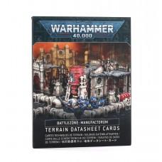 Battlezone: Manufactorum – Terrain Datasheet Cards (GW40-14)