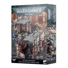 Battlezone: Manufactorum – Sub-cloister and Storage Fane (GW64-62N)