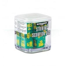 Striking Scorpion Dice (GW86-89SS)