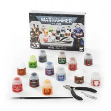 Warhammer 40,000: Paints + Tools Set (GW60-12)