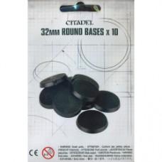 Citadel 32mm Round Bases (GW66-18)