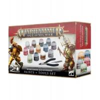 Warhammer Age of Sigmar: Paint + Tools Set (GW80-17)
