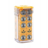 Imperial Fists Dice Set (GW86-88)