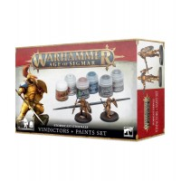 Stormcast Eternals Vindictors + Paints Set (GW60-10N)