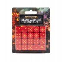 Grand Alliance Chaos Dice (GW80-22)