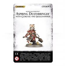 Aspiring Deathbringer with Goreaxe and Skullhammer (GW83-38)