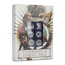 Warhammer AoS Command & Status Dice (GW86-80)