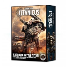 Adeptus Titanicus Warlord Battle Titan With Plasma Annihilator and Power Claw (GW400-22)
