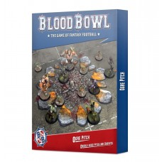Blood Bowl Ogre Pitch: Double-sided Pitch and Dugouts (GW200-82)