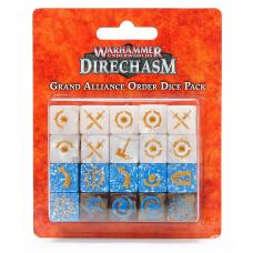 Warhammer Underworlds: Grand Alliance Order Dice Pack (GW110-09N)