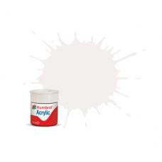 Humbrol AC 130 White Satin (AB0130)