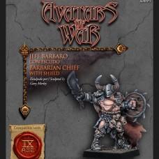 Barbarian Marauder Chief with Shield (AOW71)