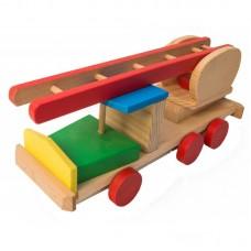 Masina pompieri din lemn (BCD032)