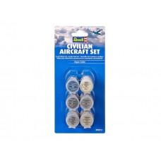 Set Vopsele Aqua Civilian Aircraft Set (RV39072)