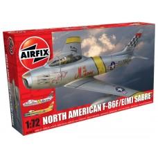 North American F-86F/E(M) Sabre (AF03082A) (scara: 1/72)