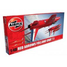 Red Arrows Gnat (AF05124) (scara: 1/48)