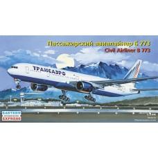 Boeing 777-300, Transaero (HP14477) (scara: 1/144)
