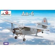 Antonov An-6 (HP1466) (scara: 1/144)