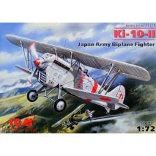 Ki-10-II Japan army fighter-biplane (HP72311) (scara: 1/72)