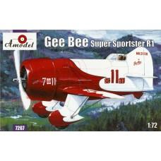 Gee Bee R1 Super Sportster (HP7267) (scara: 1/72)