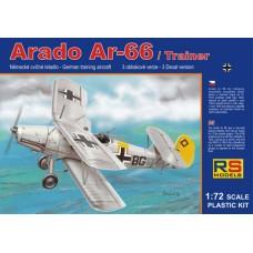 Arado 66 Trainer Luftwaffe (RSM92059) (scara: 1/72)