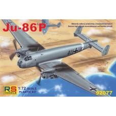 Junkers Ju 86P (RSM92077) (scara: 1/72)