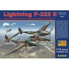 Lightning P-322 II (RSM92096) (scara: 1/72)