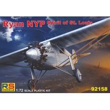 Ryan NYP Spirit of St. Louis (RSM92158) (scara: 1/72)