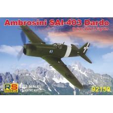 Ambrosini SAI 403 Dardo (RSM92159) (scara: 1/72)