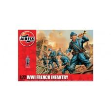 WWI French Infantry (AF01728) (scara: 1/72)