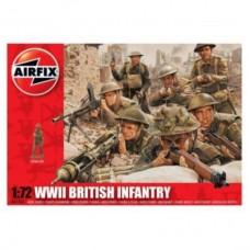 Set 48 soldati WWII Infanterie Britanica (AF01763) (scara: 1/72)