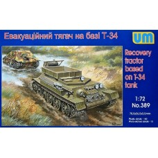 Recovery tractor based on T-34 Tank (HP389) (scara: 1/72)
