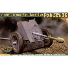 3.7cm Pak.35/36 (HP72241) (scara: 1/72)