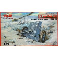3.7cm Pak 36 (HP72251) (scara: 1/72)