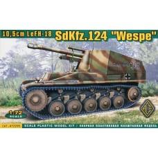 SdKfz.124 Wespe (HP72295) (scara: 1/72)