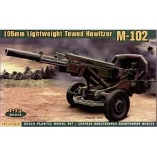M-102 US 105mm howitzer (HP72419) (scara: 1/72)