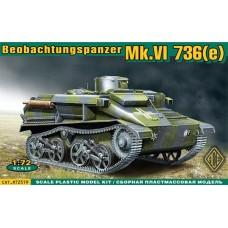 Mk.VI 736(e) Beobachtungspanzer (HP72519) (scara: 1/72)