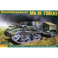 Munitionspanzer Mk.VI 736(e) (HP72520) (scara: 1/72)