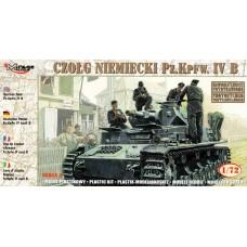 Pz.Kpfw. IV B, 21 Panzerdivision (neu) 1943 (HP72852) (scara: 1/72)