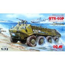 BTR-60P Soviet infantry vehicle (HP72901) (scara: 1/72)