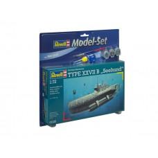 Model Set U-BOOT Type XXVIIB SEEHUND (RV65125) (scara: 1/72)
